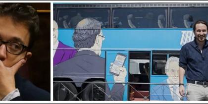 Íñigo errejón y el Tramabús de Podemos.