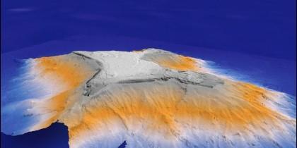 Montaña submarina