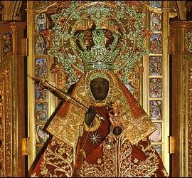La virgen de Guadalupe, exiliada
