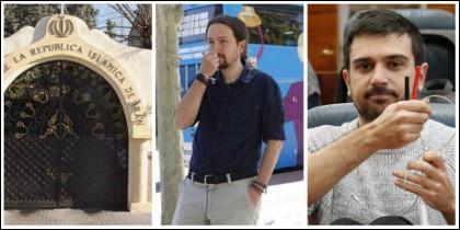 Embajada de Irán en Madrid, el 'tramabús' de Podemos y Ramón Espinar.