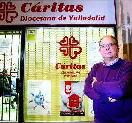 El director de Cáritas Valladolid, Jesús García Gallo