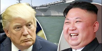 Trump, Kim Jong-un y la flota 'perdida'