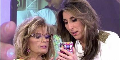 María Teresa Campos con Paz Padilla.