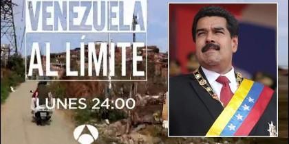 Programa de televisión en Antena 3 sobre Venezuela y el chavista Maduro.