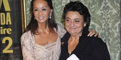Isabel Preysler y Elena Benarroch