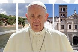El Papa, en la basílica de los mártires