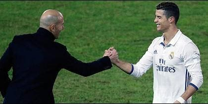 Cristiano Ronaldo interviene en la alineación del Madrid para el Clásico con un 'recadito' a Zidane