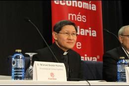 El cardenal Tagle, en Compostela