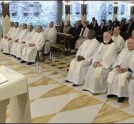 El Papa, en Santa Marta con el C-9