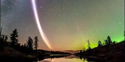 Clolumna luz en Canadá