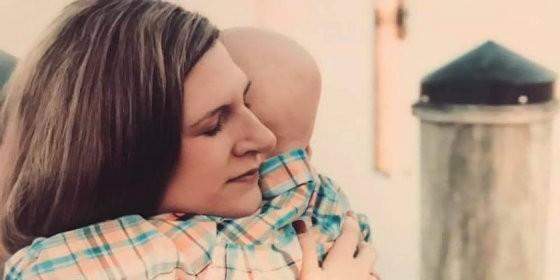 La emotiva última conversación entre una madre y su hijo