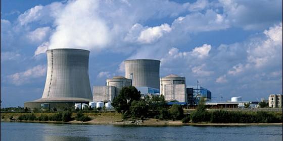 La central nuclear de Garoña, en Burgos.