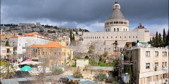 Nazaret y la Basílica de la Anunciación