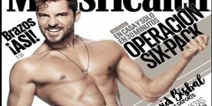 David Bisbal, portada de la revista Men's Health.