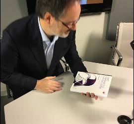 Fernando Vidal, en los estudios de RD