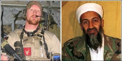 El soldado Robert O'Neill y el terrorista islámico Osama Bin Laden.