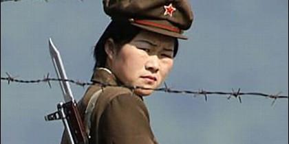 La norcoreana Lim Hye-jin.