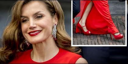 La Reina Letizia y sus zapatos.