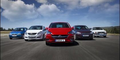 Opel Corsa y sus 5 actualizaciones