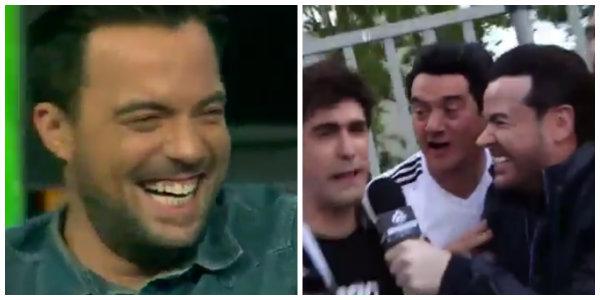 Nacho Peña imitado por Iván Labanda.