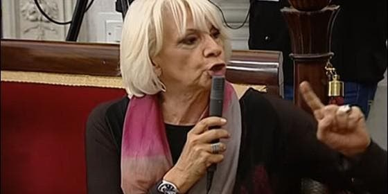 La concejal del PP Teófila Martínez.