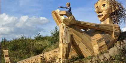 Gigante en Dinamarca