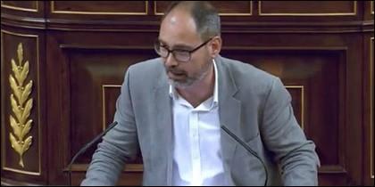 Alberto Montero en el Congreso.