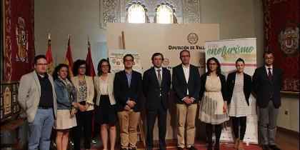 Presentación de la actividad en la Diputación de Valladolid