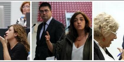 Manuel Carmena tiene al enemigo en casa: Sánchez Mato y Celia Mayer.