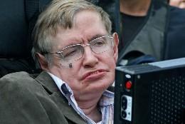 El astrofísico británico, Sthephen Hawking.