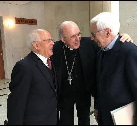 Marciano, Osoro y Juan de Dios M. Velasco