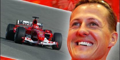 El expiloto de Fórmula 1 Michael Schumacher.