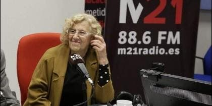 Manuela Carmena en 'Radio gaga'.