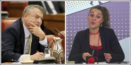 José Antonio Sánchez y Noelia Vera.