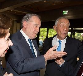 Presidente de la República, con Anselmo Borges