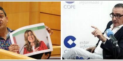 Carlos Mulet y Carlos Herrera.