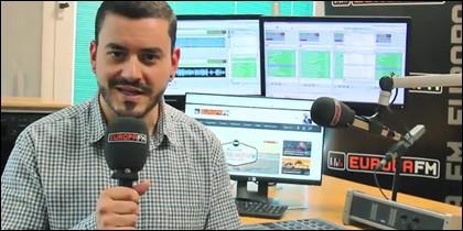 Juanma Romero, de EuropaFM.