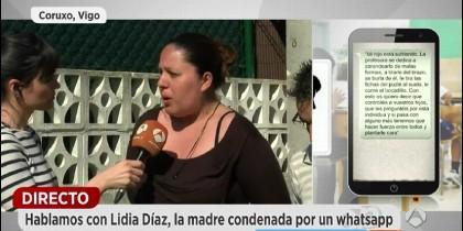 La madre condenada