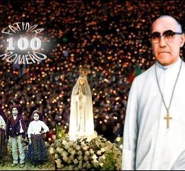 Centenario de las visiones de Fátima y del nacimiento de Romero