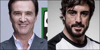 José Ramón de la Morena y Fernando Alonso.
