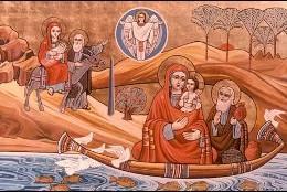 La huida de la Sagrada Familia a Egipto