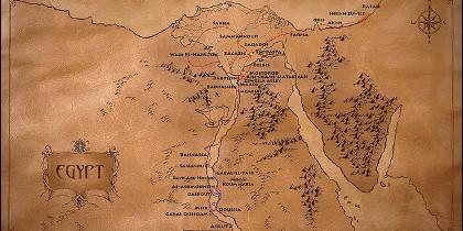 La ruta de la Sagrada Familia en Egipto