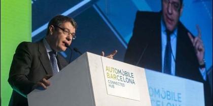 Álvaro Nadal en Automobile Barcelona