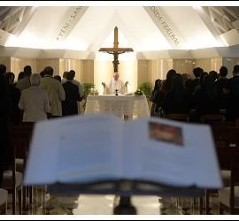 Homilía del Papa en Santa Marta