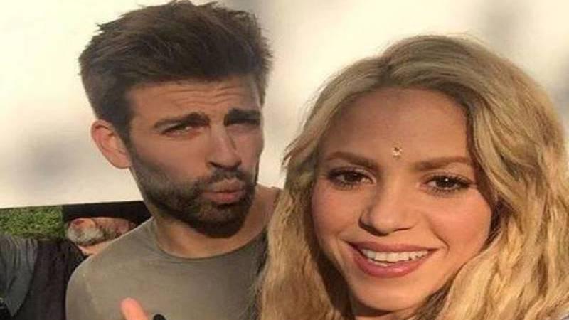 Gerard Piqué con Shakira.