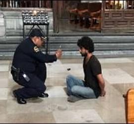 La detención del presunto agresor del sacerdote en la Catedral Metropolitana de Ciudad de México