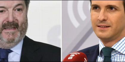 Bieito Rubido y Pablo Casado.