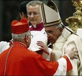 El Papa, con Ricardo Blázquez