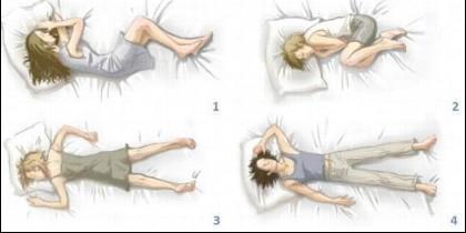 El sueño, dormir, la postura.