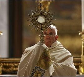 El Papa, en el Corpus